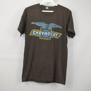 01b944aa Vintage 80s CHEVROLET Mens Small Chevy T Shirt